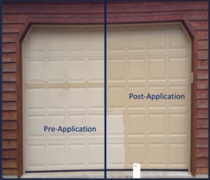 Al-New Restore brilliance to garage doors