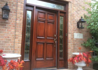 door wood finishing 3