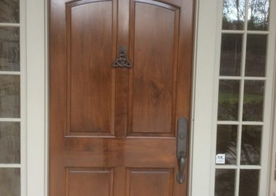 door wood finishing 5