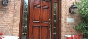 Wood Door Restoration